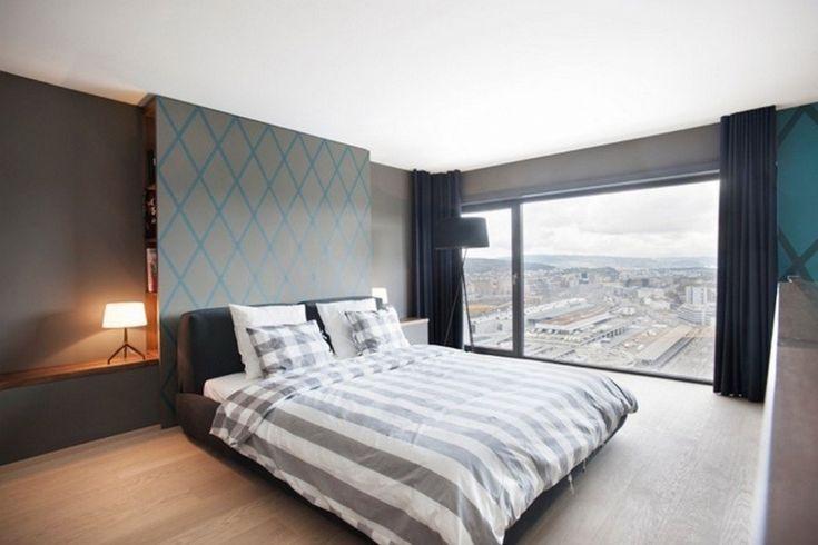 Cтильный пентхаус, расположенный на верхнем этаже Hard Turm Park в Цюрихе. - Дизайн интерьеров | Идеи вашего дома | Lodgers