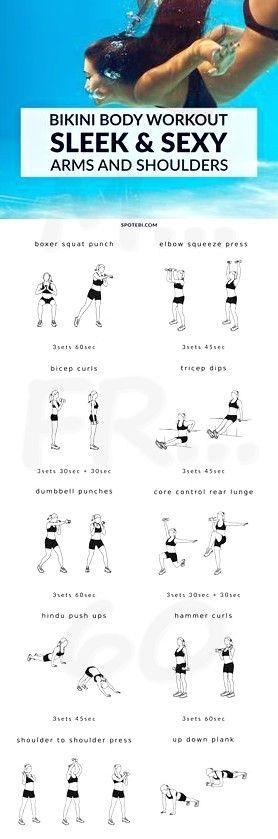 Komplettes Arm- und Schultertraining für Frauen