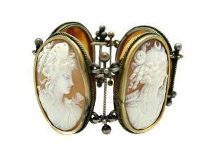 Victorian Antique Cameo Bracelet