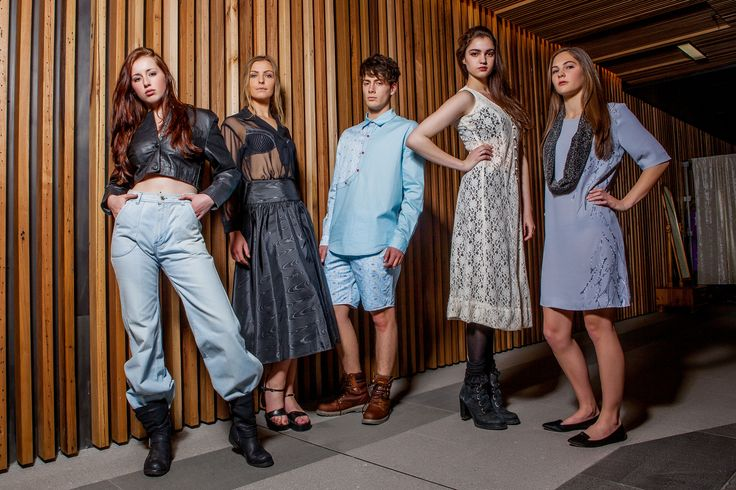 HAUS Models wearing threads from the Hustle&Scout Twilight Fashion Market, Canberra. Photo: Red Photography