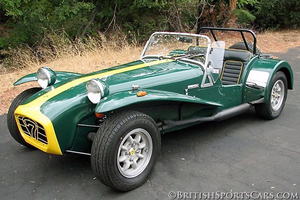 1970 Lotus Caterham Super 7 traded in new fiat 128 estate for this .... Good move !!