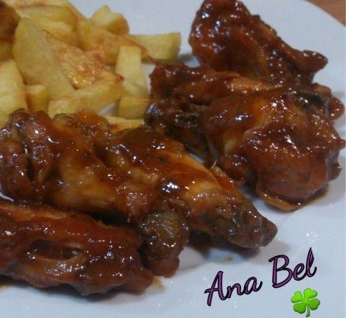 Alitas de pollo a la barbacoa para #Mycook http://www.mycook.es/receta/altas-de-pollo-a-la-barbacoa/