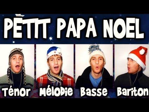 Petit Papa Noel - A CAPPELLA by Julien Neel (Trudbol) - French Christmas TTBB multitrack song lyrics
