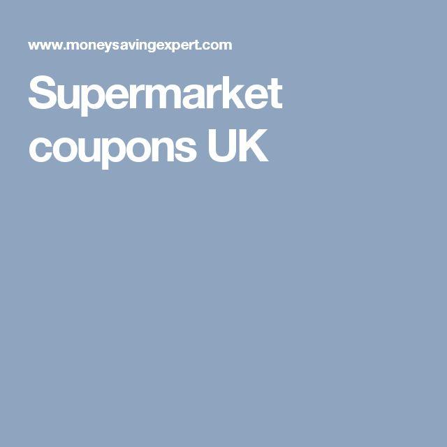 Supermarket coupons UK