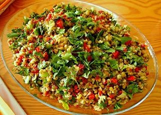 marş salatası tarifi
