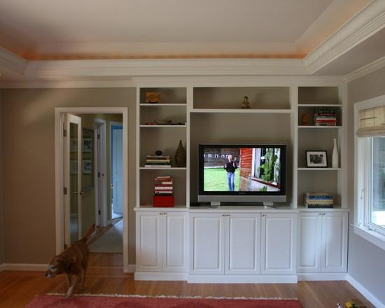 Best Living Room Images On Pinterest Basement Ideas Living - Built in cabinets entertainment center design pictures remodel