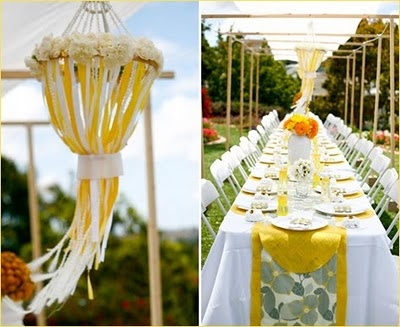 bloomerism :: a blog by inBloom Event Design: if i had a grey and yellow wedding...