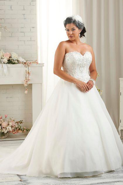 """Robe de mariée grande taille Bonny Bridal """"1505"""""""
