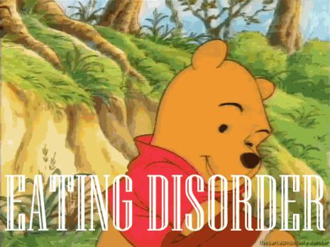 My Winnie-the-Pooh pschological disorder: IMPULSIVITY WITH OBSESSIVE FIXATIONS AND EATING DISORDER. Pooh bear is willing to go to any length to get honey. More generally, this disorder is the state in which an individual becomes obsessed with an attachment to another person, being, or object: A strong attachment to a person or thing, especially such an attachment formed in childhood or infancy and manifested in immature or neurotic behavior that persists throughout life.