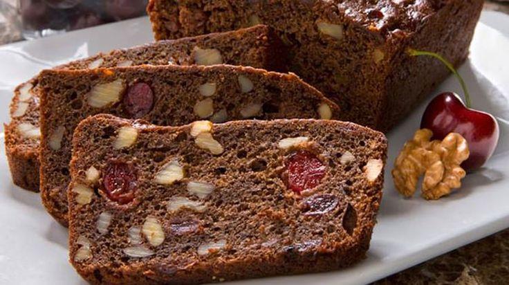 Cherry-Walnut Chocolate Bread - Walnuts dot org