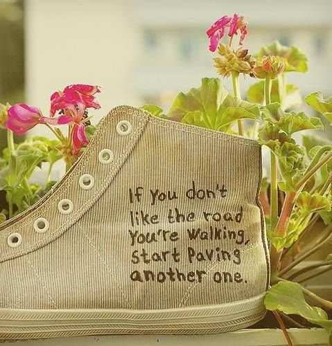 If you don't like the road you're walking, start paving another one. And with that positive note, have a great Friday and a fantastic weekend!  Find us on Facebook: http://www.facebook.com/Mobicast.GardenRoute