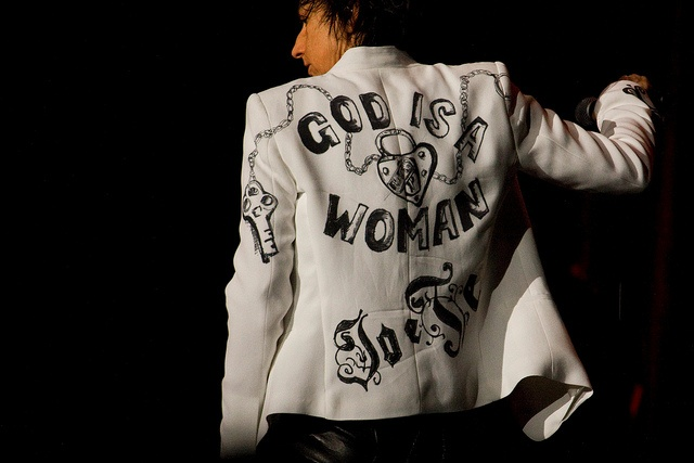 God is a Woman by MateoZ, via Flickr  (5 Maggio - Roma)