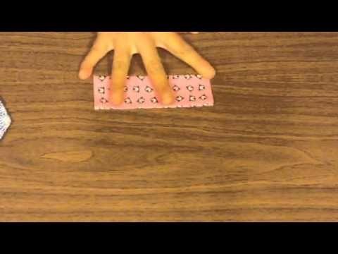 折り紙コマの作り方 - YouTube