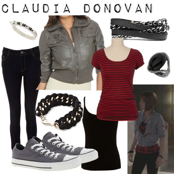 """Claudia Donovan Nevermore"" by fandom-wardrobes on Polyvore"