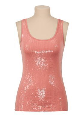colored mini sequin tank (original price, $20.00) available at #Maurices