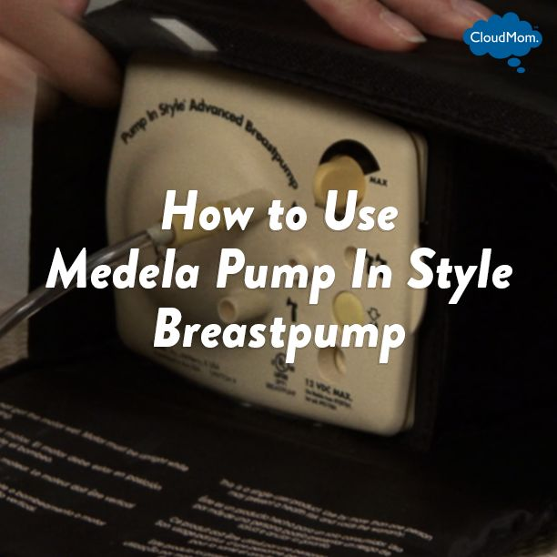 How to Use Medela Pump In Style Breastpump | CloudMom #medela