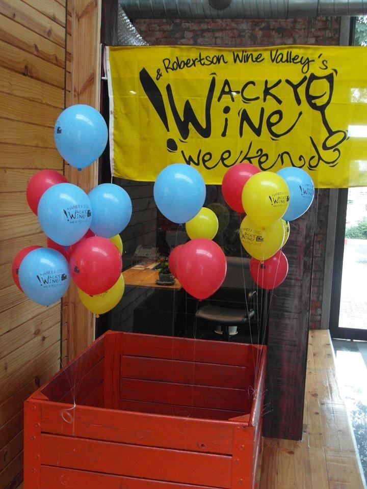 Wacky Wine 2014 #Robertson #RightPlaceRightTime