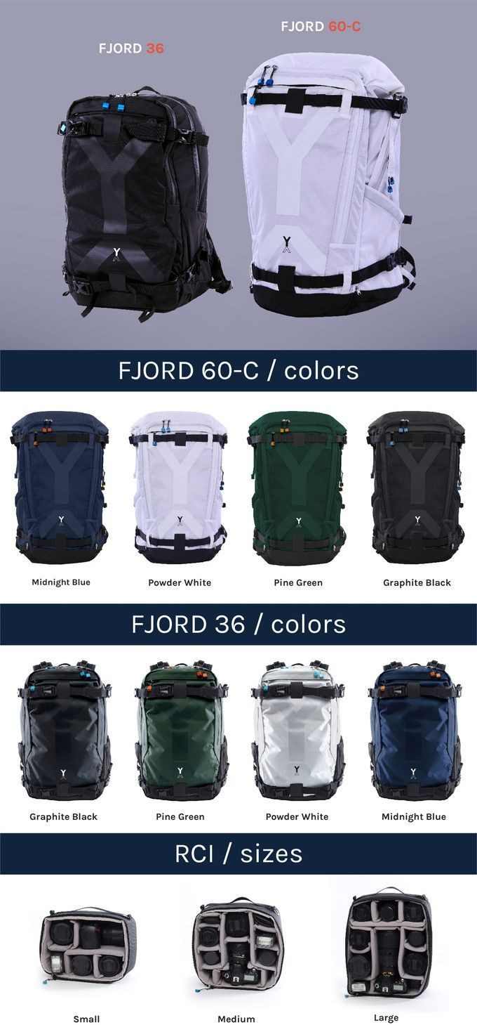 2a32cf94a1574 FJORD 60-C   36 Adventure Camera Backpacks Introducing NYA-EVO s  game-changing range of carry-on adventure backpacks and removable camera  inserts.