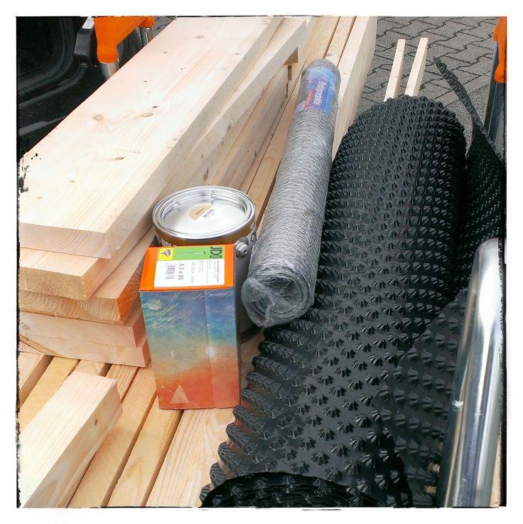 Hochbeet selber Bauen - Materialliste
