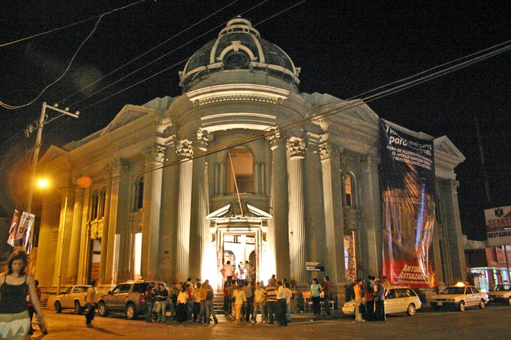 Bank in Guaymas, Sonora Mexico