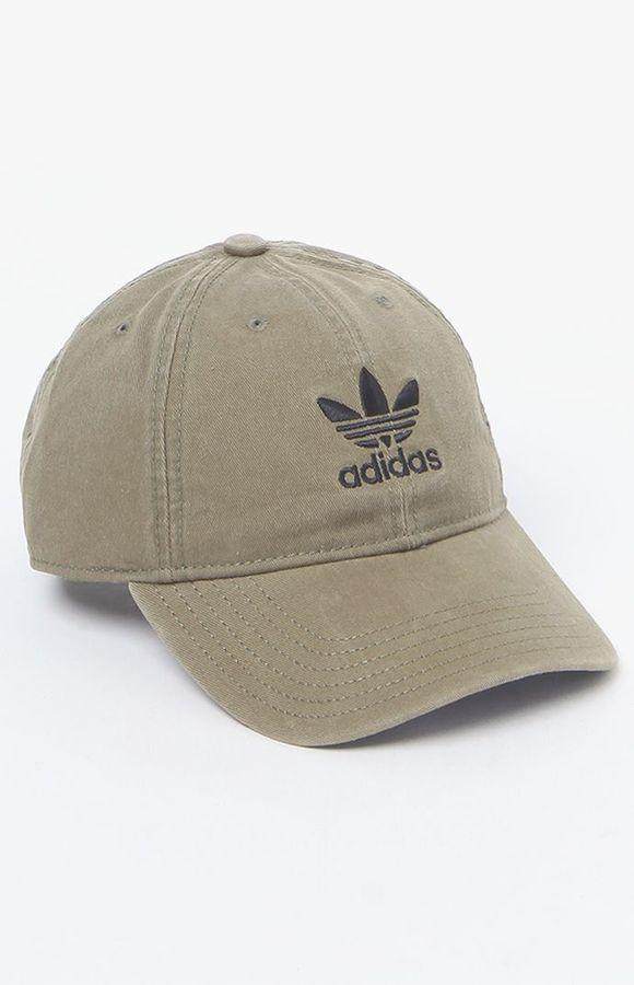adidas Washed Canvas Baseball Cap