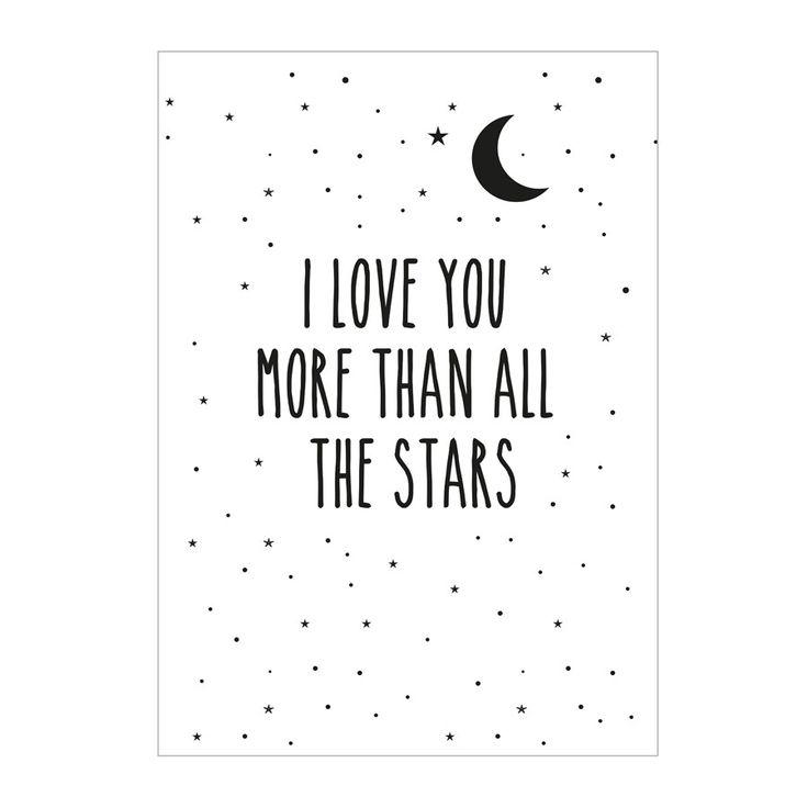Print . More Than Stars - A3