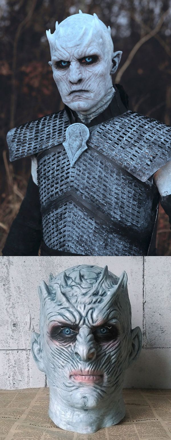 night king dargon mask, game of thrones halloween mask, classic realistic halloween masks