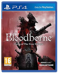 Bloodborne: Game of the Year Edition PlayStation 4 Cover Art