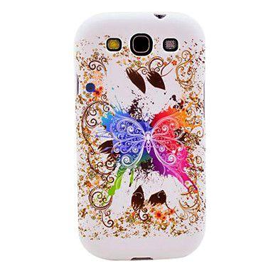 Brillante modello di farfalla TPU Soft Cover Case for Galaxy S3 I9300 – EUR € 3.83