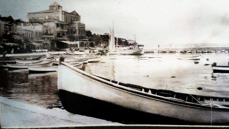 MUHTEŞEM YILLAR ... Eski Antigoni - Burgazada Limanı ...