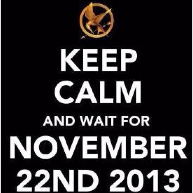 The Hunger Games  ...  Catching Fire What a GREAT Birthday present this will be!!! :O