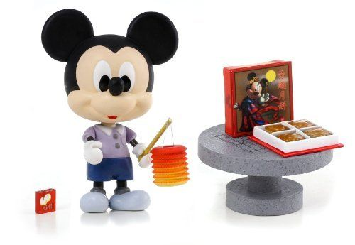 "Disney Play Buddies 3.5"" Play set - Mid Autumn Festival - Mickey [33131] by Dragon. $25.99. Play Buddies Collection comprises different Disney characters in a setting that brings customers back to their nostalgic Hong Kong childhood.  Mid-Autumn Festival (???) is a popular lunar harvest festival celebrated in Asia. Hong Kong celebrate the occasion by carrying brightly lit lanterns and eat mooncakes during the month.  People can now relive their childhood memories with these ..."
