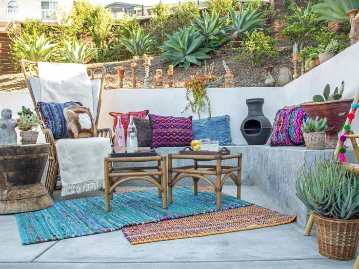 1 patio 3 global inspired makeovers - Outdoor Living Patio