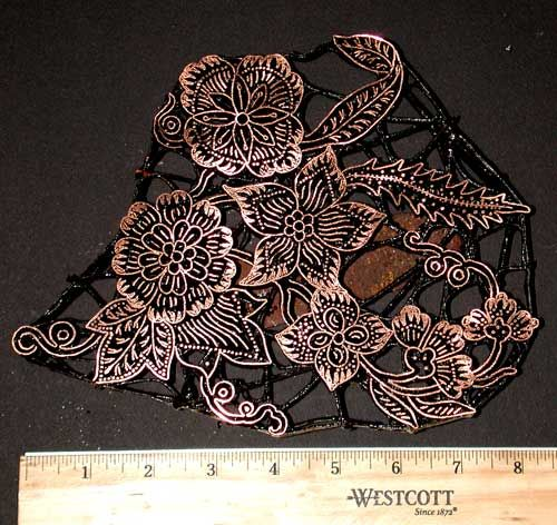 Check out the deal on Handmade Indonesian Copper Batik Stamp/Cap/Tjap at artisticartifacts.com