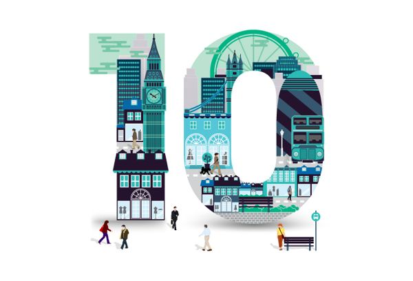 Nash Bond 10th Anniversary identity by Alex Tomkins, via Behance