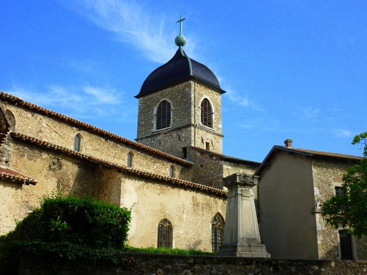 Eglise Sainte Marie Madeleine - Pérouges -