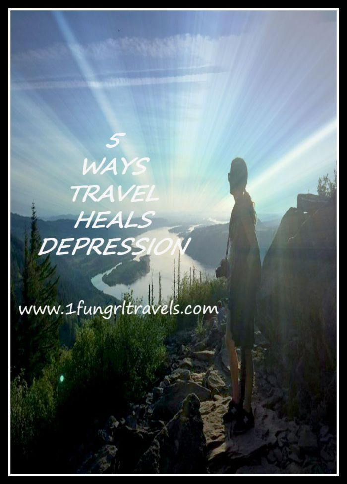 How travel heals depression! #travel #mentalhealth #tip #depression