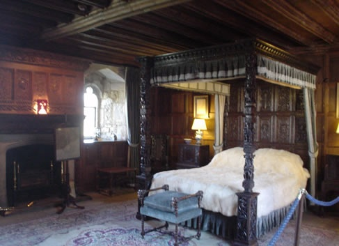 Henry VIII's room at Hever Castle