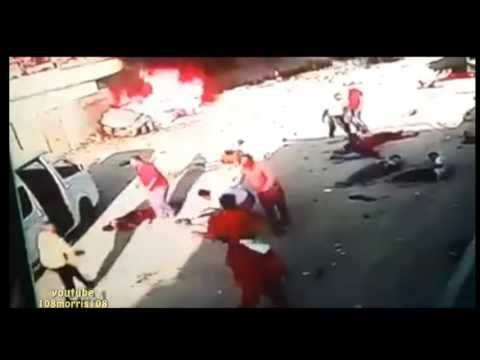 ISIS Bombing Caught Red Handed Innocents Hurt - Hoax