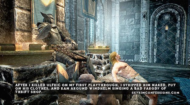 "19 Sadistic, Appalling, And Hilarious Things Gamers Have Done In ""Skyrim"""