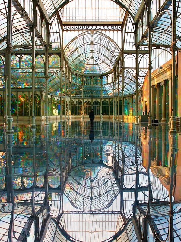 palacio de cristal. madrid i love you