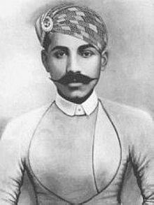 Thug Behram or Buhram - aka (Buhram Jemedar ca 1765 –1840) and 'King of the Thugs' a leader of the Thuggee cult active in Oudh in northern central India during the late 18th and early 19th century, involved in up to 931 murders by strangulation, performed with a ceremonial cloth, or rumal, which in Hindi means handkerchief.
