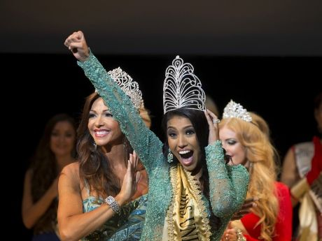 Ashley Callingbull, whose married name is Burnham, became the first Canadian and first woman from a First Nation to win the Mrs. Universe pageant. She took the title on Aug. 29, 2015, in Belarus.