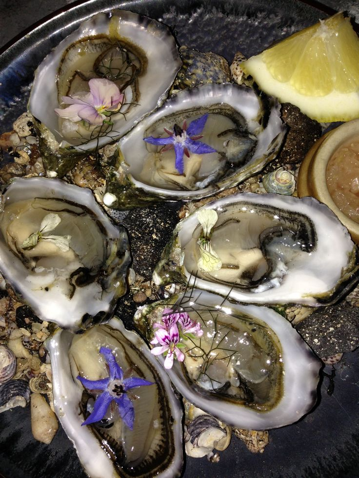 Oysters strait from the Summer seas.....