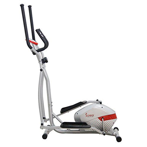 The Sunny Health & Fitness SF-E3416 Magnetic Elliptical Traineroffers a non-impactcardiovascular workout without causing excessive pressure to the joints hence decreasing the risk of impact injur...