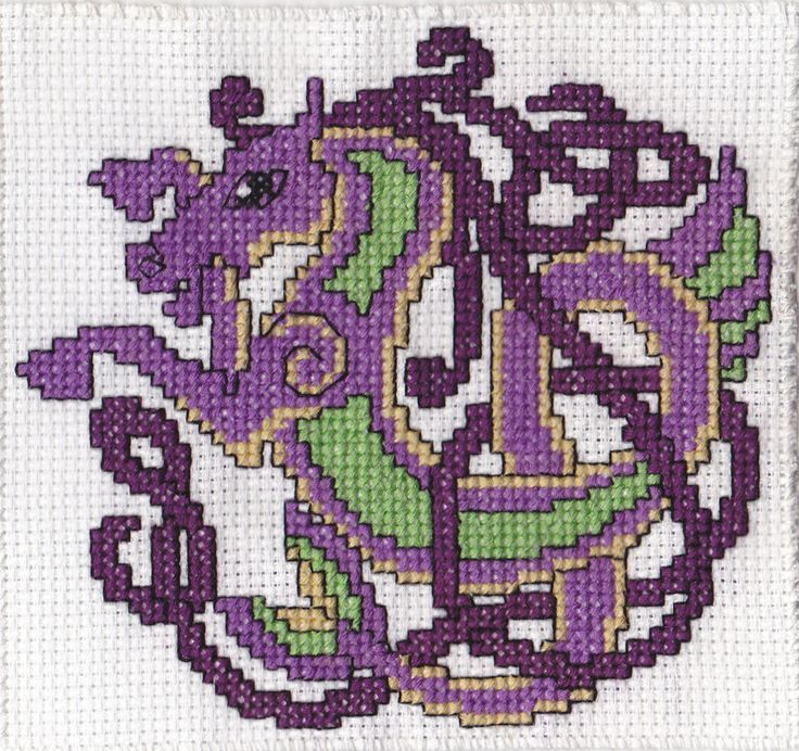 Celtic Horse Cross Stitch by WLIIAmg Embroidery ...