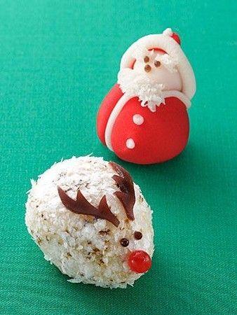Christmas wagashi (Japanese sweets)