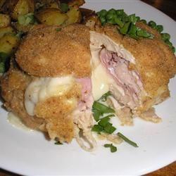 Savory chicken cordon bleu recipe