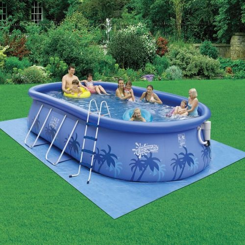 Summer escapes quick set 12 39 x 20 39 x 48 oval pool price for Above ground pools quick set