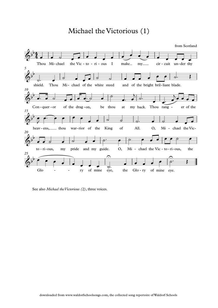 Waldorf School Songs Schullieder